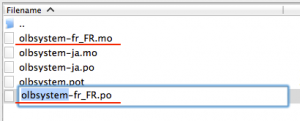 Change the file name 2